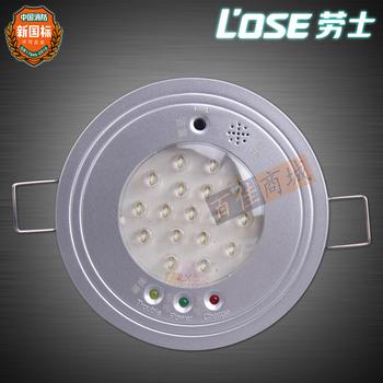 Isointernational russell led fire emergency light embedded fire lights lighting lamp ceiling light ceiling lamp