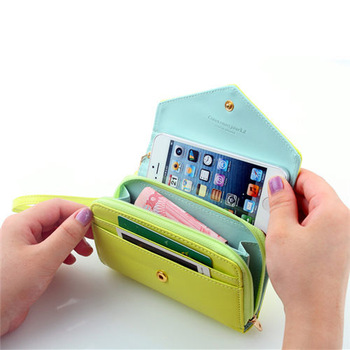 DHL+EMS PU leather wallet case for samsung galaxy s4 i9500 mini handbag cell phone cover for samsung svi +Free Shipping