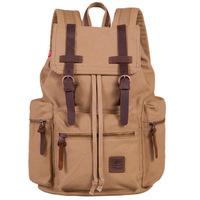Vintage Canvas Mens Womens Backpack Rucksack school bag Satchel Hiking bag MELTop Quality Free Shipping