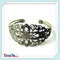 Beadsnice ID13961 elegant handmade bracelet of in stock diy brass bracelet of cuff bracelet  show your good taste