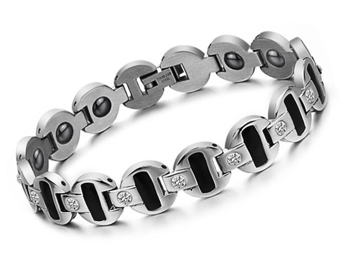 Free Shipping Fashion accessories health care bracelet titanium magnetic belt male bracelet(China (Mainland))
