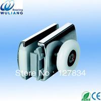 double roller sliding shower door roller wheel plastic shower roller