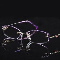 New arrival 2013 myopia rimless eyeglasses frame diamond glasses Women glasses 179