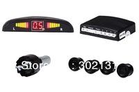 Car LED Parking Reverse Backup Radar System with Backlight Display+4 Sensors