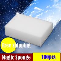 100pcs/lot Magic Sponge Eraser Melamine Cleaner,multi-functional sponge for Cleaning100x60x20mm Free shipping