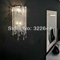 Hot selling LED crystal wall lamp bedroom lighting  also for wholesale