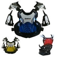 new 2014 off-road motorcycle armor protector armor vest TP760 red / yellow / blue / transparent 4 Colors