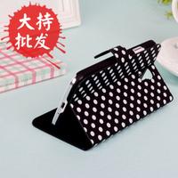 Fashion  for SAMSUNG   galaxy s4 i9500 polka dot holsteins phone case ultra-thin protective case