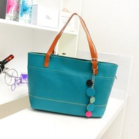 Wholesale Bag 2013 women's candy color handbag fashion bags big bag preppy style shoulder bag handbag
