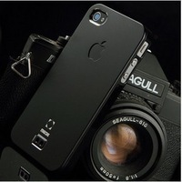 For iphone  4 phone case ultra-thin scrub  for apple   4s cell phone metal shell iphone4 s protective case