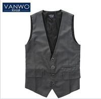 New Arrival 2013 high quality slim men's casual vest Free shipping vest undershirt beer for men singlet 2 colors