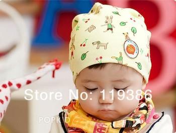 Cartoon carrot children's hat baby born hat bunny cap kids cap Boys-Girls winter warm hats
