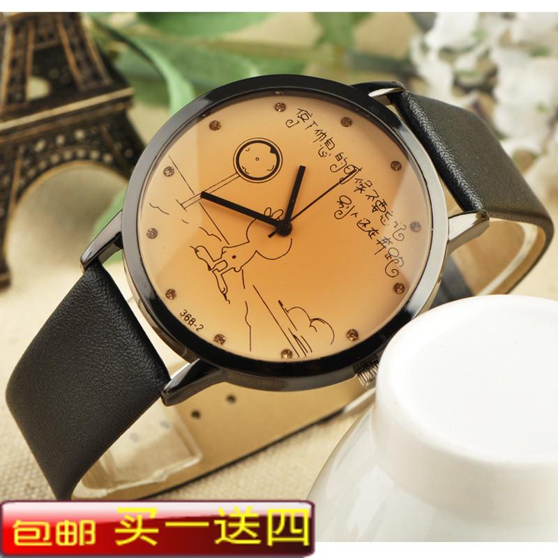 Cartoon young girl watch female small fresh strap women's watch waterproof ladies watch(China (Mainland))