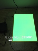 colorful A4 el backlight panel with DC12V  inverter +AC adaptor (2pcs/lot)