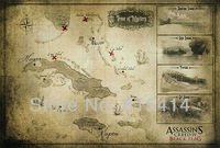 """13 Assassins Creed IV Black Flag 36""""x24"""" inch wall Poster with Tracking Number"""