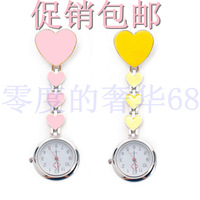 Beautiful Heart nurse table medical wall chart fashion pocket watch men and women watches medical pocket watch
