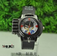 Beautiful Watch laser sheet anime toys electronic watch 56 7 mcdonald