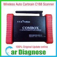 100% Original CarBrain C168 Scanner Update Online C 168 Scanner C-168 Auto Diagnostic Tool