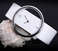 Beautiful Male women's watch quartz vintage watch fashion watch lovers table transparent jelly table