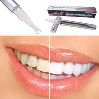 Brazil Free Shipping Popular White Teeth Whitening Pen Tooth Gel Whitener Bleach Remove Stains