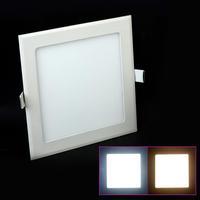 AC85-265V Warm White/Cold White 3W/5W/6W/9W/12W/15W/25W Led Panel Lighting Ceiling Light