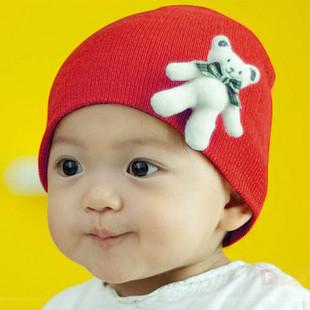 13 three-dimensional cartoon Winnie the labeling kit lens cap baby hat  fashion children cartoon hat Free shipping/ pullover hat