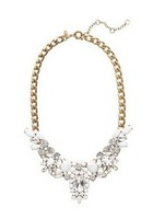 J C crystal encrusted collar necklace!J-C-J High quality! Free Shipping! Luxury Statement Jewelry! long pendant, Estate jewelry!