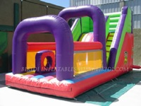 Small slide, inflatable dry slide B4020