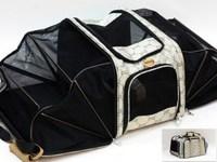 Free Shipping Dorgan petsinn jacquard tent folding bag pet bag dog backpack teddy vip schnauzer