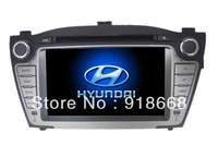 In Dash Car GPS Navigation for Hyundai Tucson IX35/ IX 2009 with Multi-point Touch Screen, Radio, DVD, Bluetooth,TV,3G,WIFI