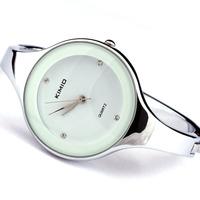 2014 new Kimio women's watch fashion bracelet watch brief hand ring white dress watch smart watch men jewelry