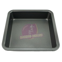 Baking mould chalybeate 8 square bakeware cake mould pizza plate oven