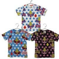 2013 summer boys girls hysteric mini black super B animal cartoon pacifier Eva short sleeve T-shirt