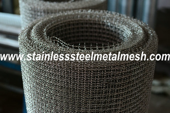 Stainless Steel  Crimped Heavy Duty Wire Mesh