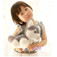 2pcs/lot free shipping 25cm dog plush toy puppy doll kids toy SS0486