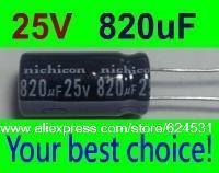 50 pcs Electrolytic Capacitors 820uF 25V New Radial