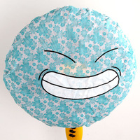 E9047 smiley small flower non-woven electric fan dust cover
