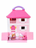 Free Shipping! 2013 new arrival hello kitty high quality toys for girls cute furniture house