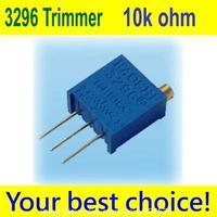 100 PCS 3296 W High Precision Variable Resistor Potentiometer Trimmer 103 10k ohm
