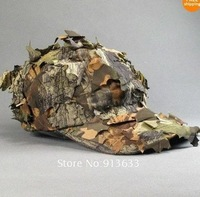 Hot Selling Unisex Quick-drying Camo Camoyfalage for hunting Outdoor Hat Free Shipping