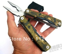 2014  multi-function pliers (large) camouflage outdoor folding forceps wholesale
