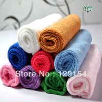 Nanometer ultrafine fiber scarf screen small towel waste-absorbing handkerchief dishwashing towel 25x25