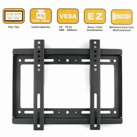 "New Wall Mount for 14""- 32"" Flat Panel Bracket Screen LCD/Plasma TV Monitor"