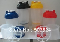 600ml Big Shaker Bottle Protein Blender Cup BPA FREE Price for One Pcs