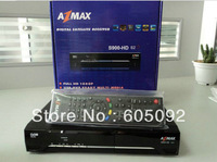 South America dedicated TV set-top box Azbox azmax s900 hd s2s Free shipping