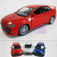 Free shipping Mitsubishi ex car model soft world cars WARRIOR alloy model