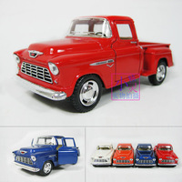 Free shipping 1955 CHEVROLET Picard's model alloy WARRIOR model soft world