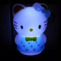 2013KT Cat  White Night Light&Wall lamp & bedside lamp & socket lamp & Love Light & atmosphere of Lights
