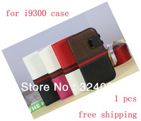 Luxury Magnetic Removable PU Leather Flip Case + Plastic Back Cover for Samsung Galaxy S3 i9300 Accessories Free Shipping