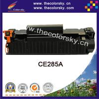(CS-H285A) BK laser toner cartridge ceramic toner for HP CE285A CE 285a 85a P1102 P1102W M1132 M1212 M1214 M1217 (1,600Pages)